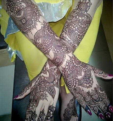 Pakistani Mehndi Design 10