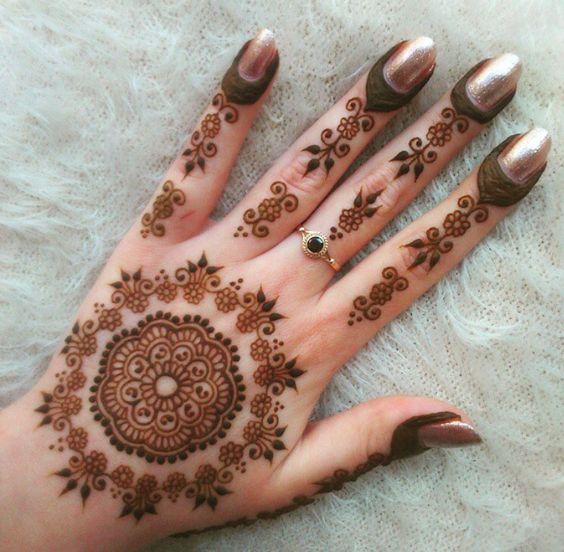 Pakistani Mehndi Design 14