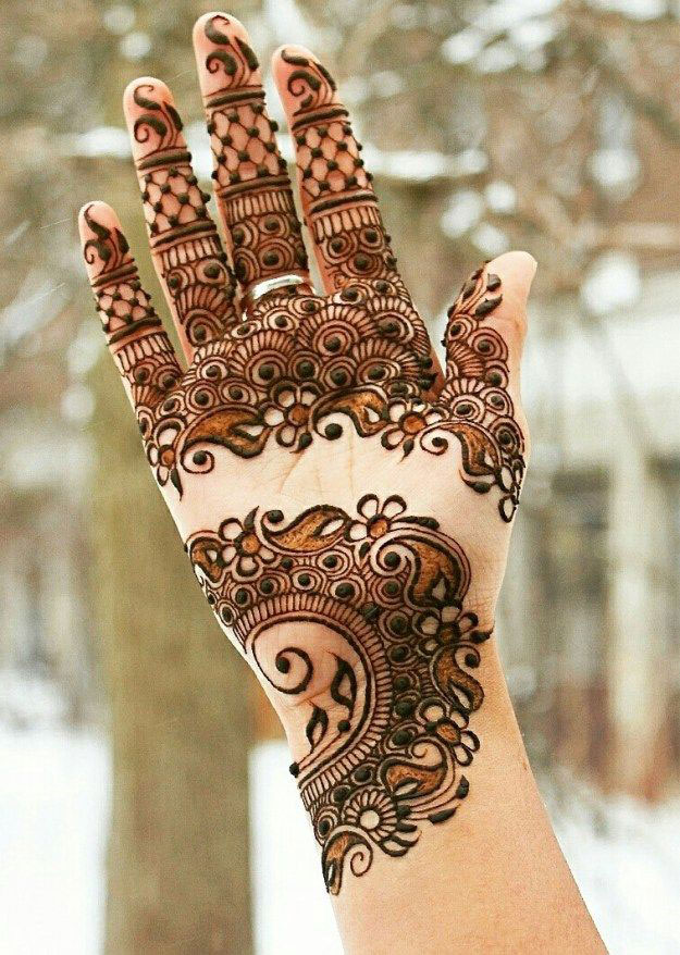 Pakistani Mehndi Design 4