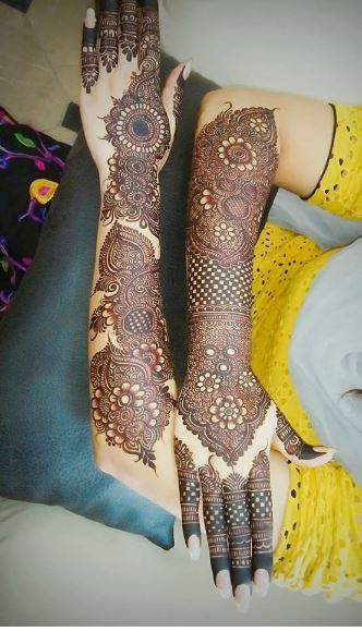 Pakistani Mehndi Design 7