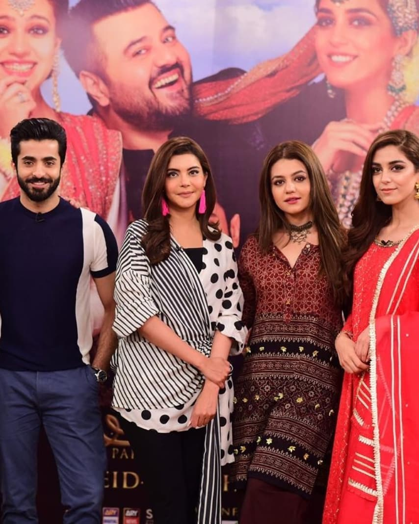 Latest Clicks of Gorgeous Zara Noor Abbas on Promotions of Movie Paray Hut Love