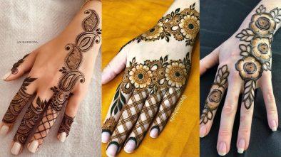 Rosette And Filigree Mehndi Designs 15