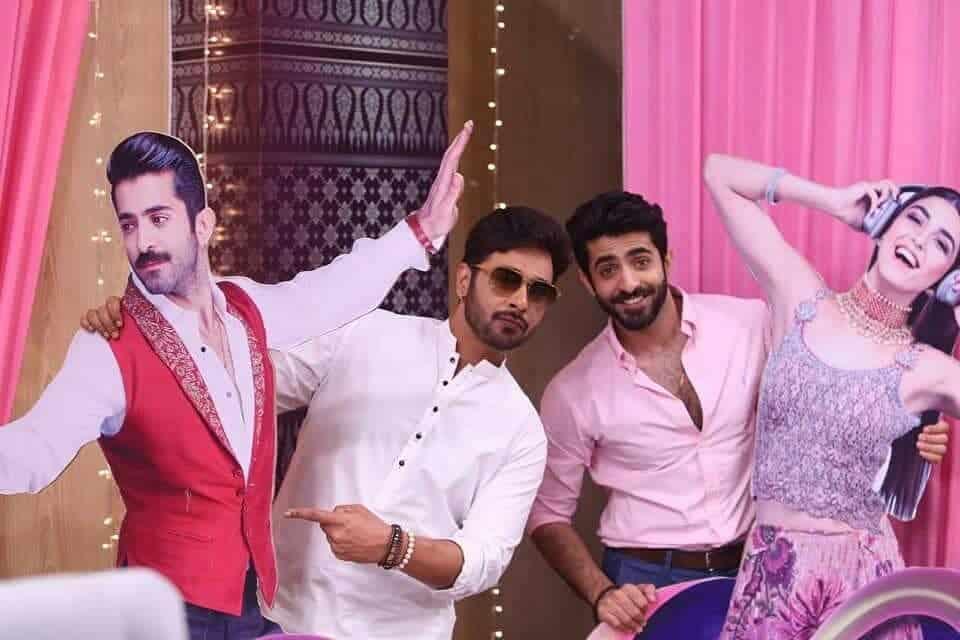 Cast & Crew of Movie Paray Hut Love at Morning Show Salam Zindagi