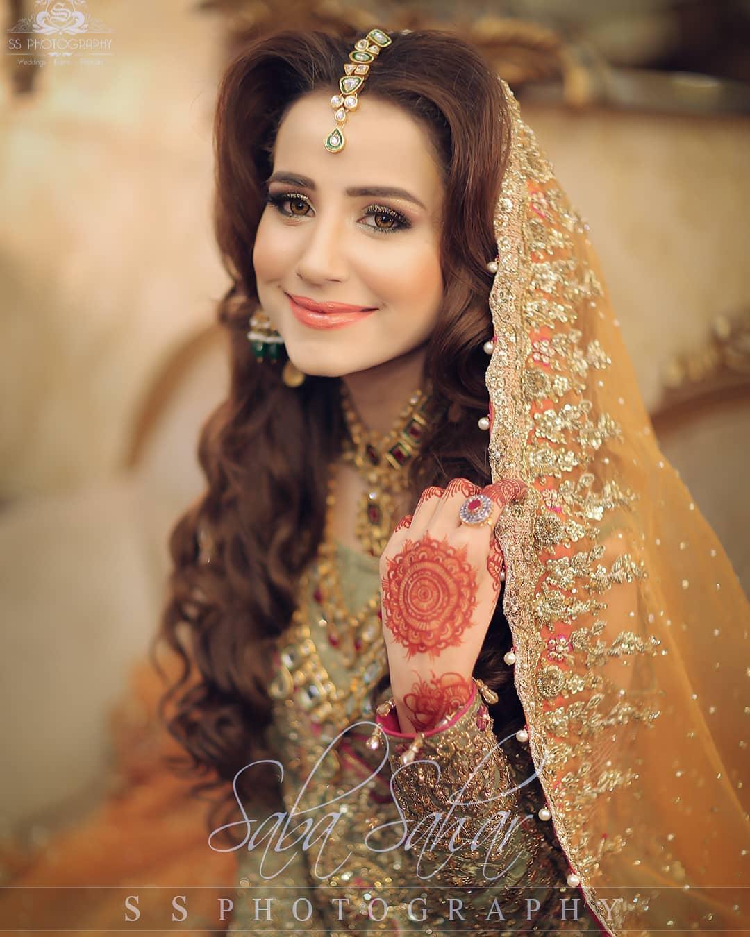 Saniya Shamshad Mehndi Pictures 1