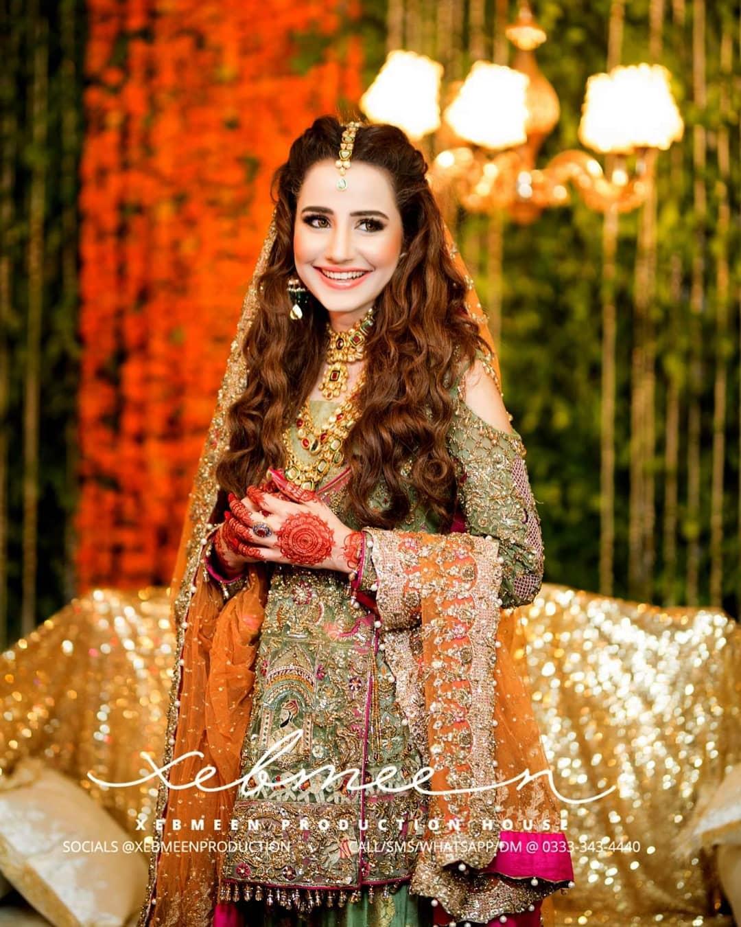 Saniya Shamshad Mehndi Pictures 11