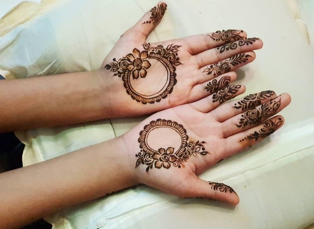 Simple Mehndi Designs 17