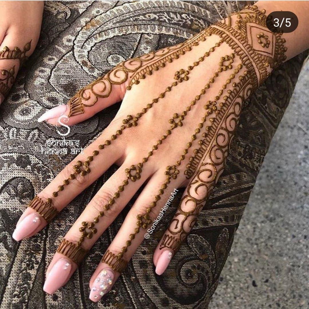 Simple Mehndi Designs 25