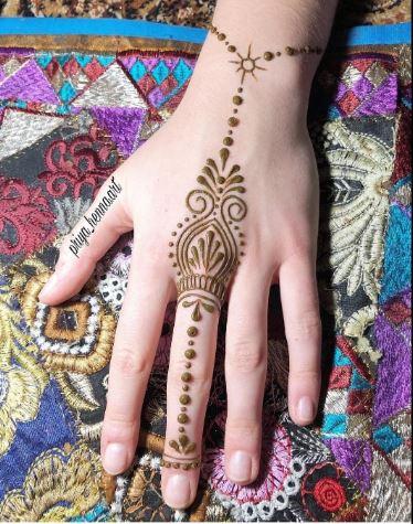 Simple Mehndi Designs 30