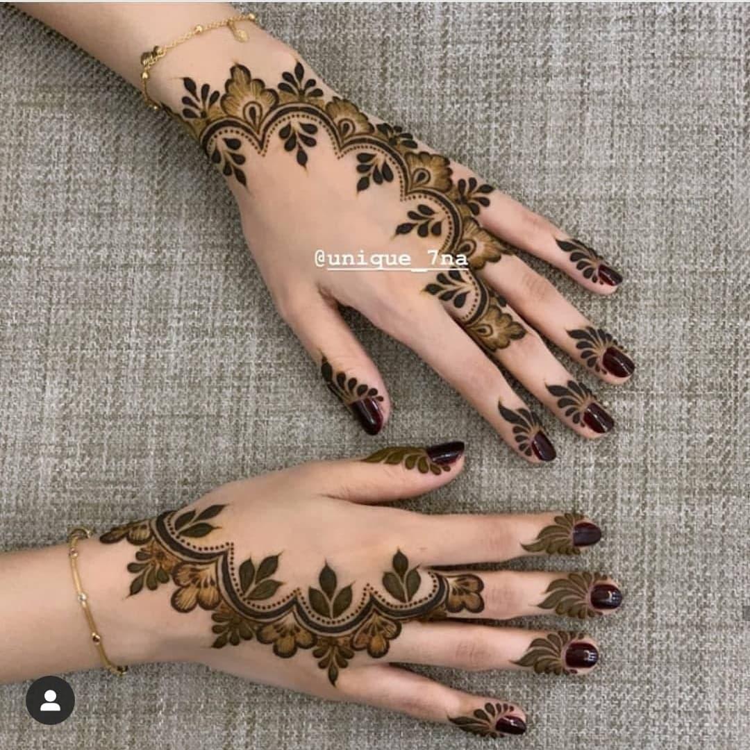 Simple Mehndi Designs 33