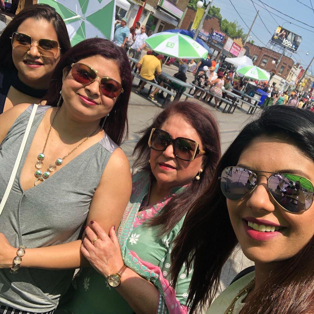 Sunita Marshal Family 2