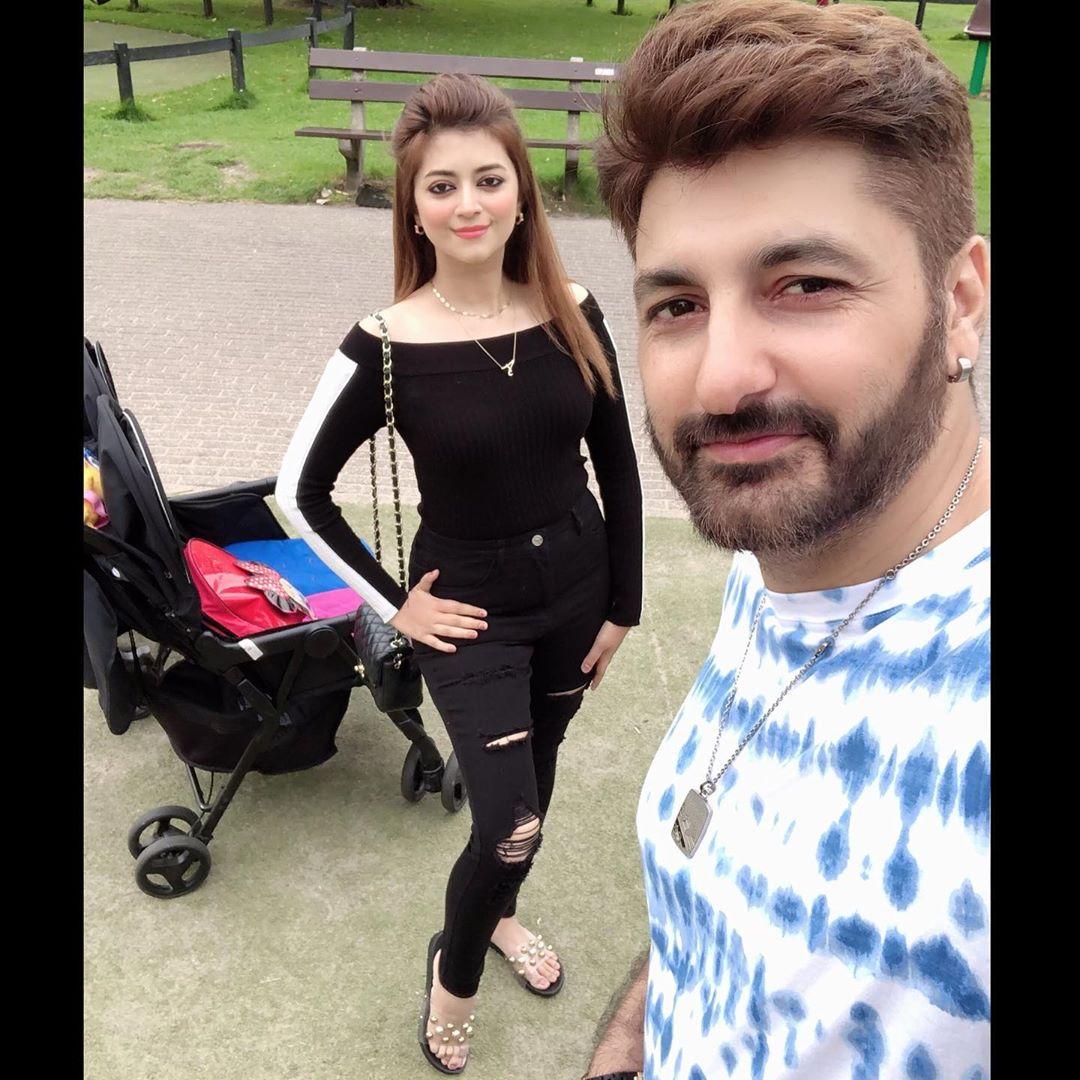 Syed Jibran & Affifa Jibran Enjoying Vacations with Family in Amsterdam