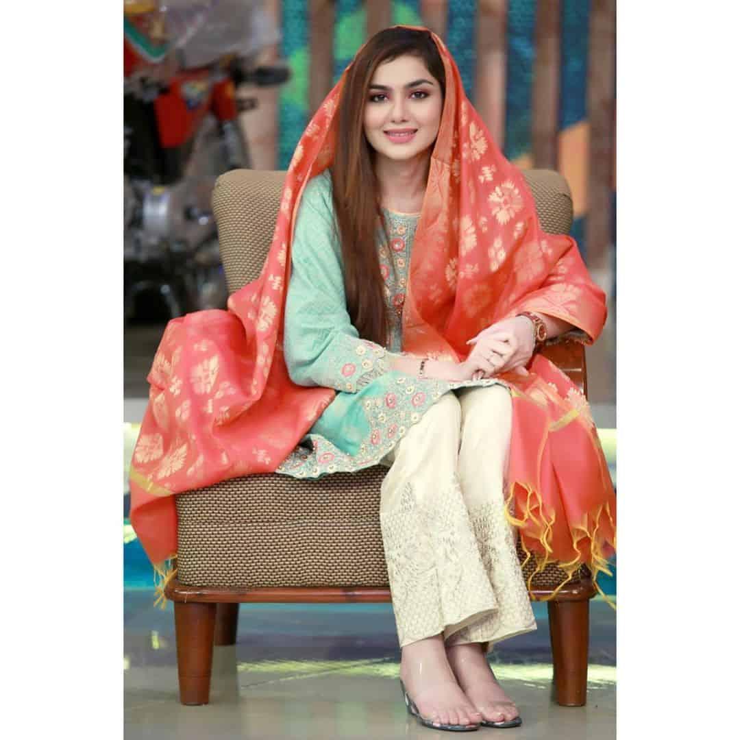 Latest Clicks of Beautiful Syeda Tuba Aamir Liaquat