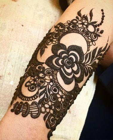 Tatoo Mehndi Designs 20