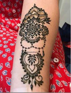 Tatoo Mehndi Designs 21