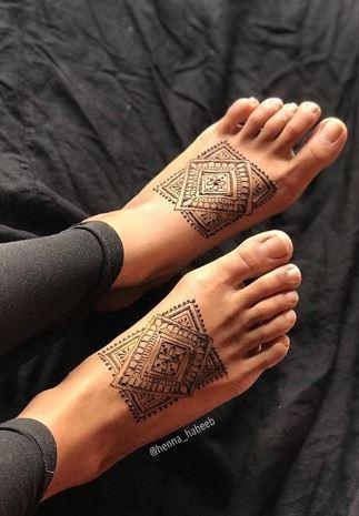 Tatoo Mehndi Designs 22