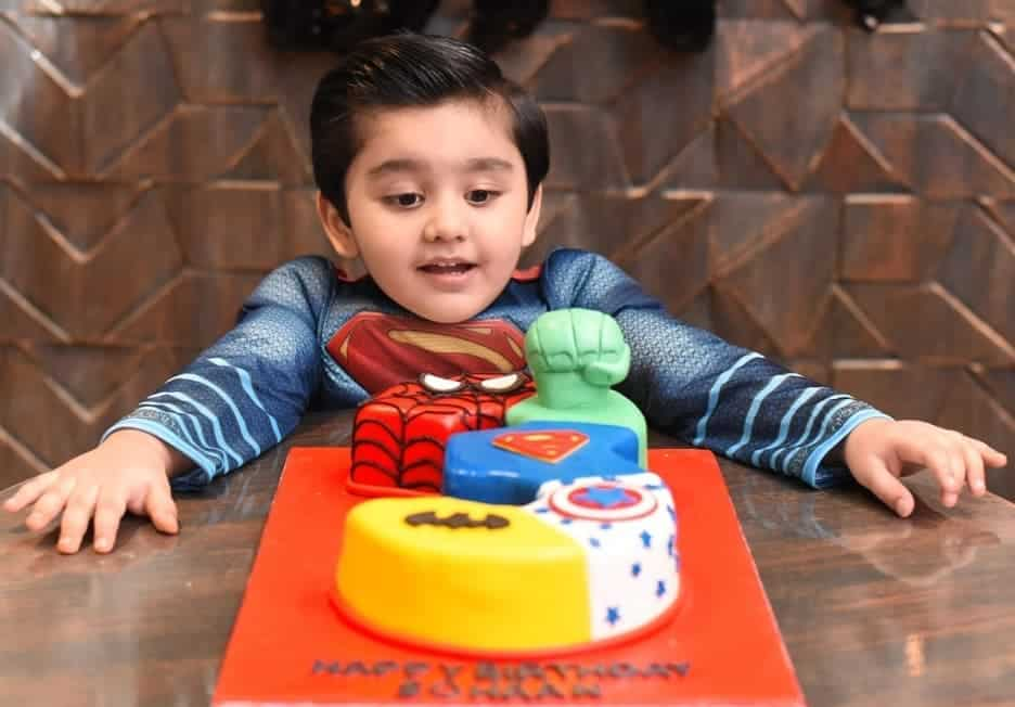 Bilal and Uroosa Qureshi Celebrated Birthday of their Son