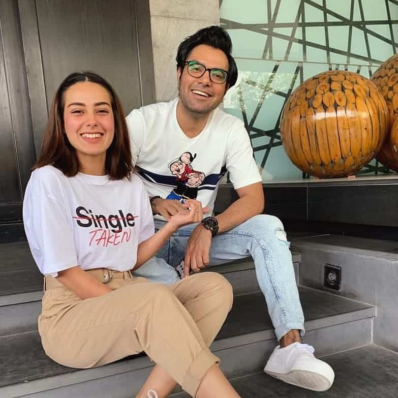 Yasir Hussain and Iqra Aziz Pictures (1)