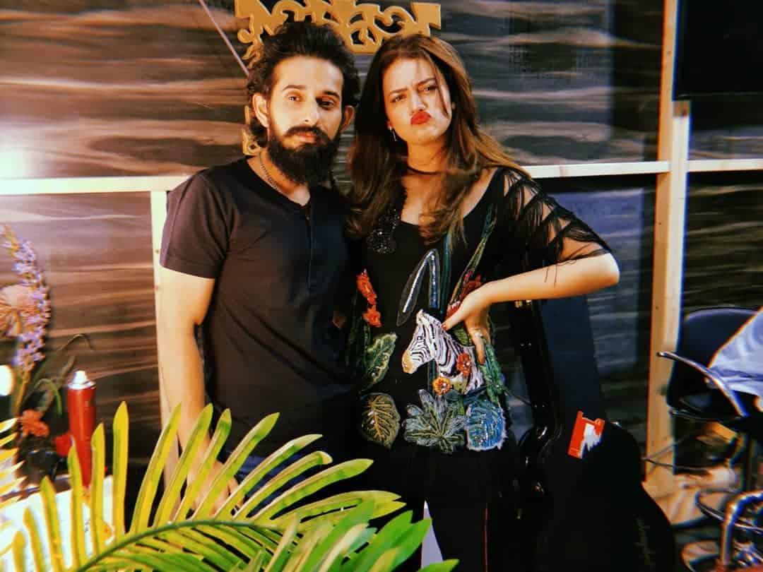 Latest Clicks of Zara Noor Abbas from Salam Zindagi Morning Show Shoot