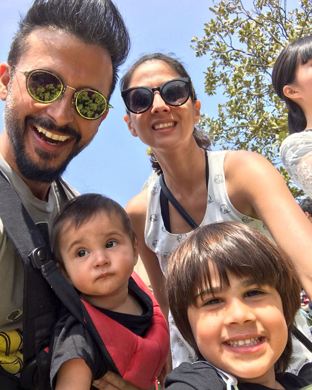 Clicks of Actor Ali Kazmi with his Family in Japan