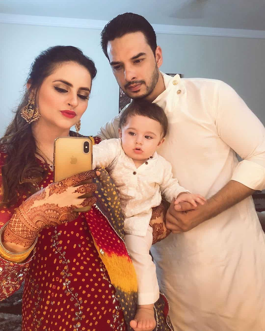 Fatima Effendi with her family from Recent Event