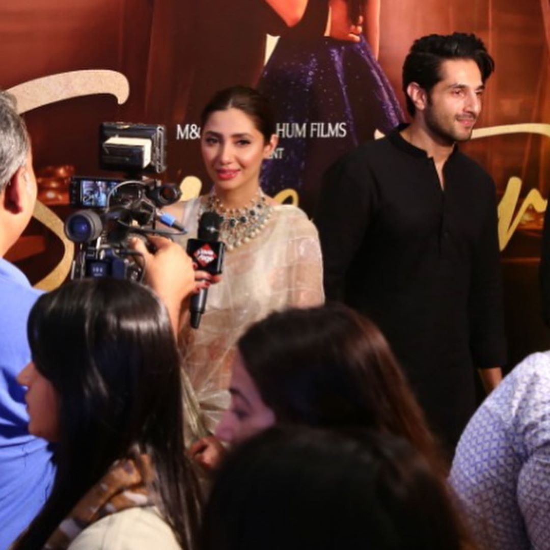 Gorgeous & Beautiful Mahira khan at the Trailer Launch of her Movie Super Star