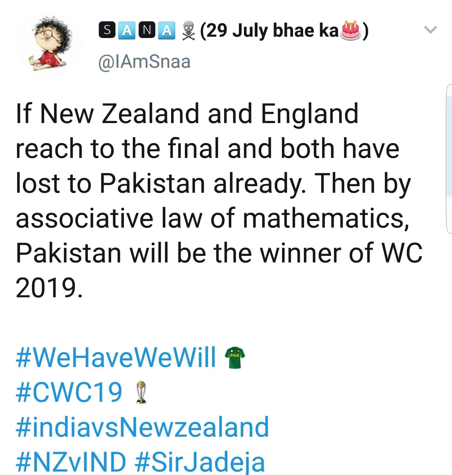 Pakistan's Reaction On Indias Defeat Against New Zealand in WC 2019