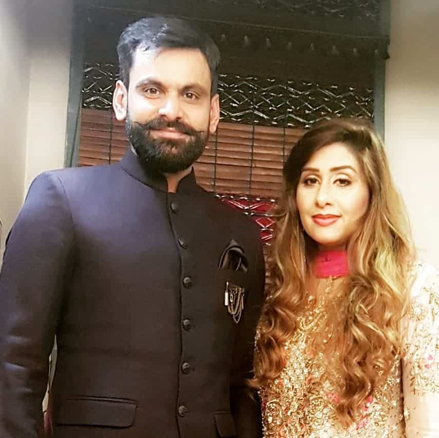 Mohammad Hafeez Wife and Family 17
