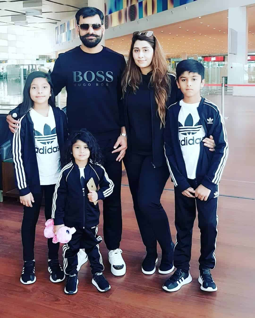 Mohammad Hafeez Wife and Family 15