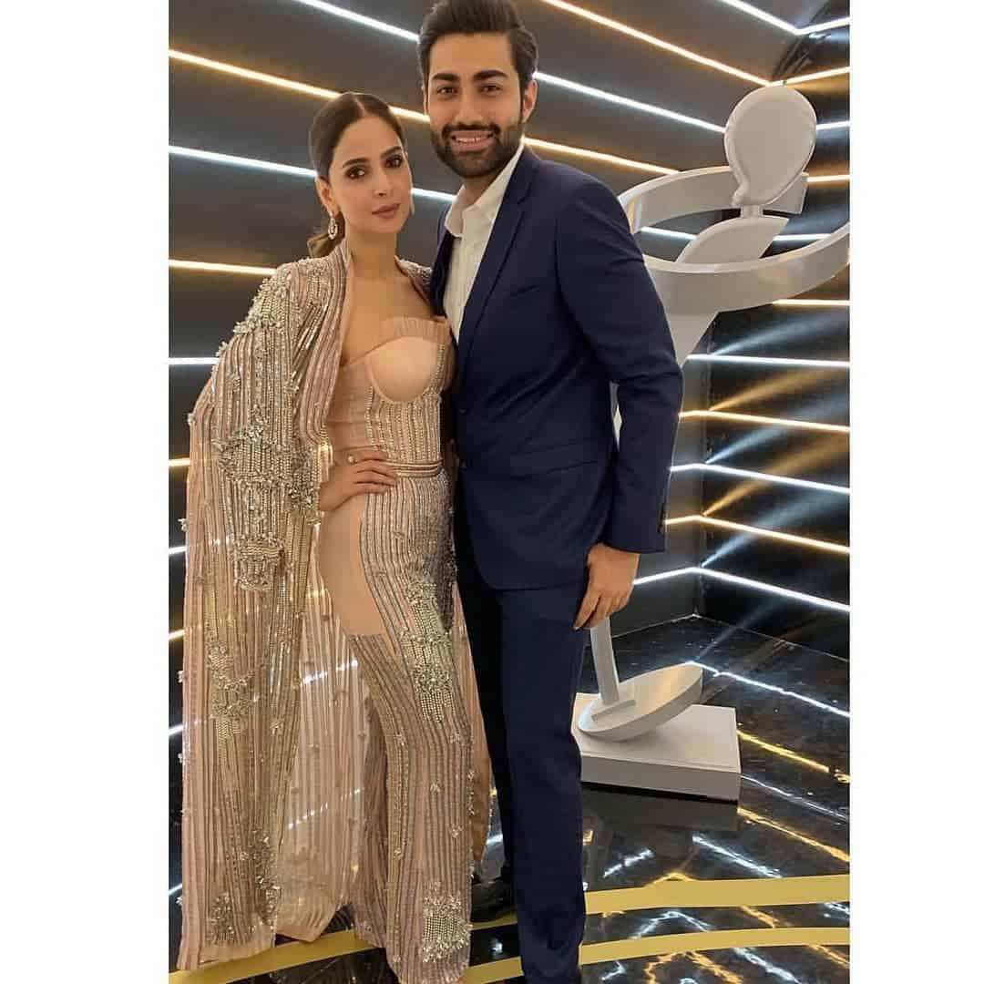 Beautiful Saba Qamar Last Night at Lux Style Awards 2019