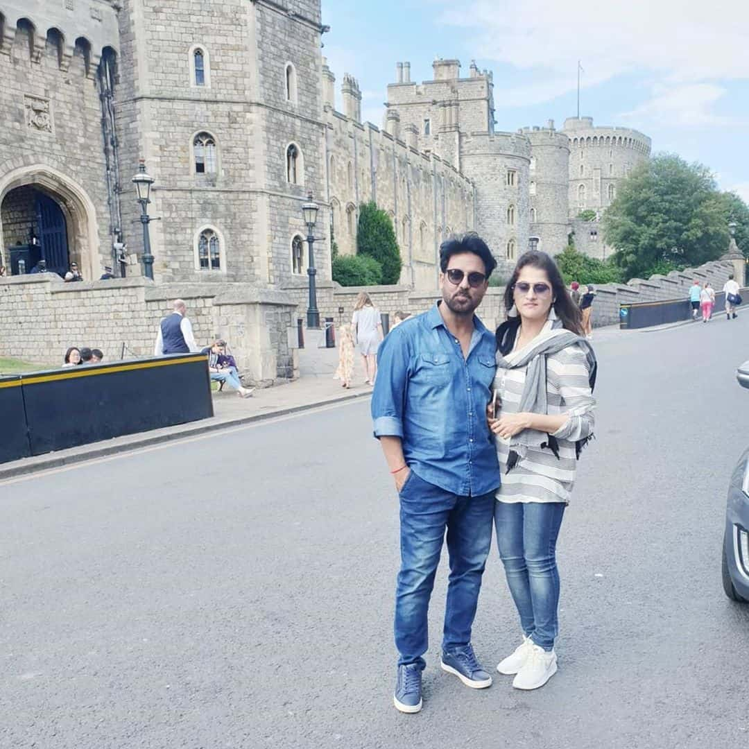 Beautiful Couple Jan Rambo & Sahiba Enjoying Vacations in London