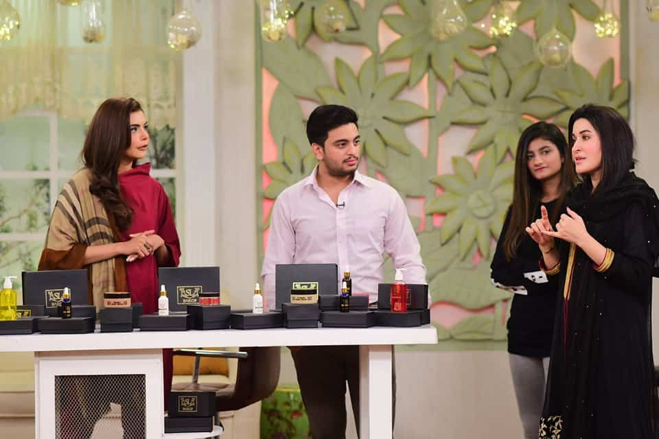 Shaista Lodhi Appeared with her Son in Nida Yasir's Morning Show
