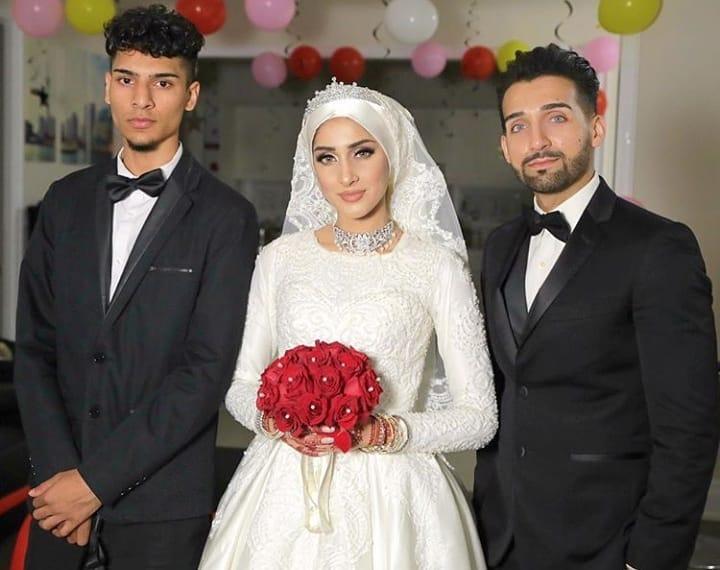 Mehndi & Wedding Pictures of Vloggers Sham Idrees and Sehar