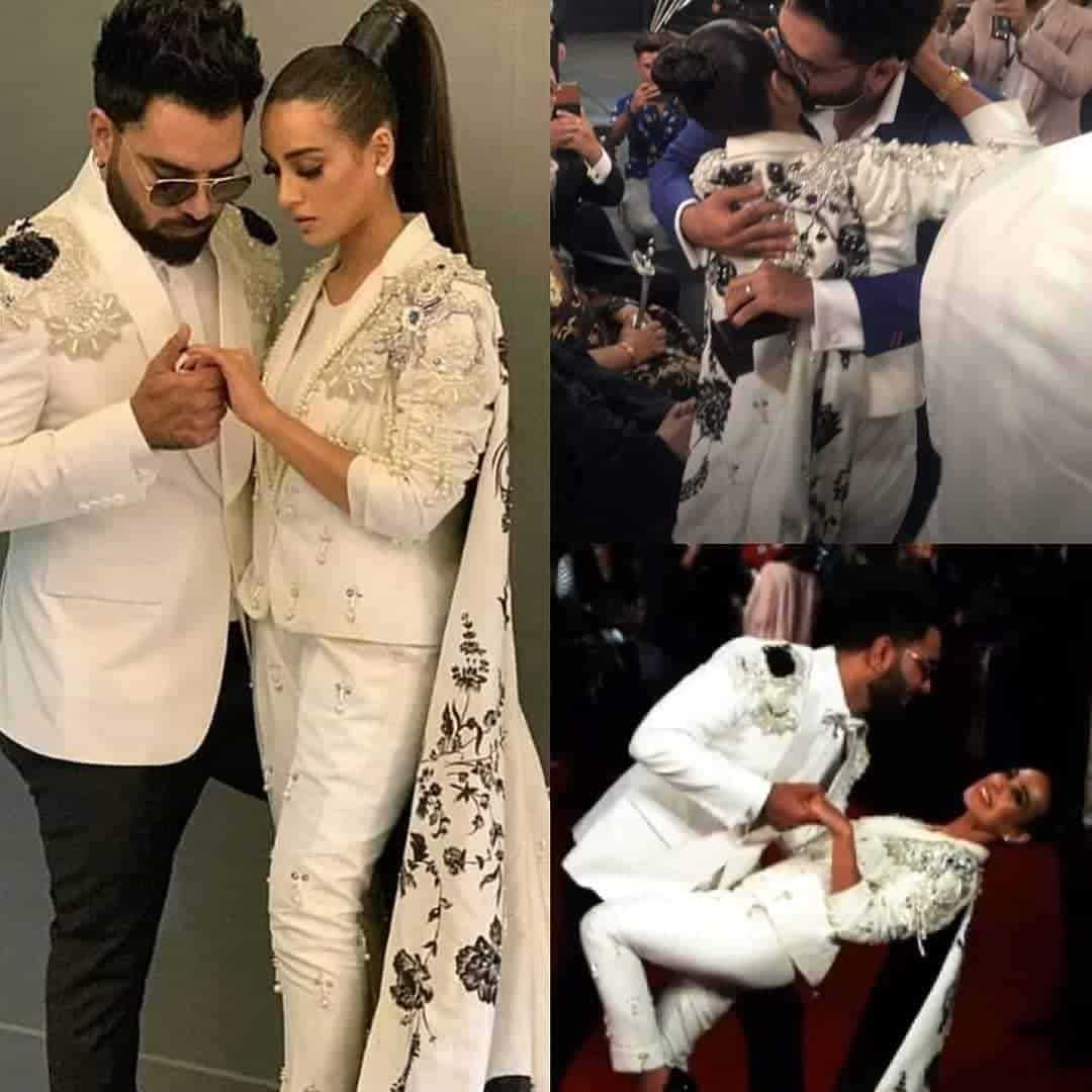 Yasir Hussain and Iqra aziz engaged collage