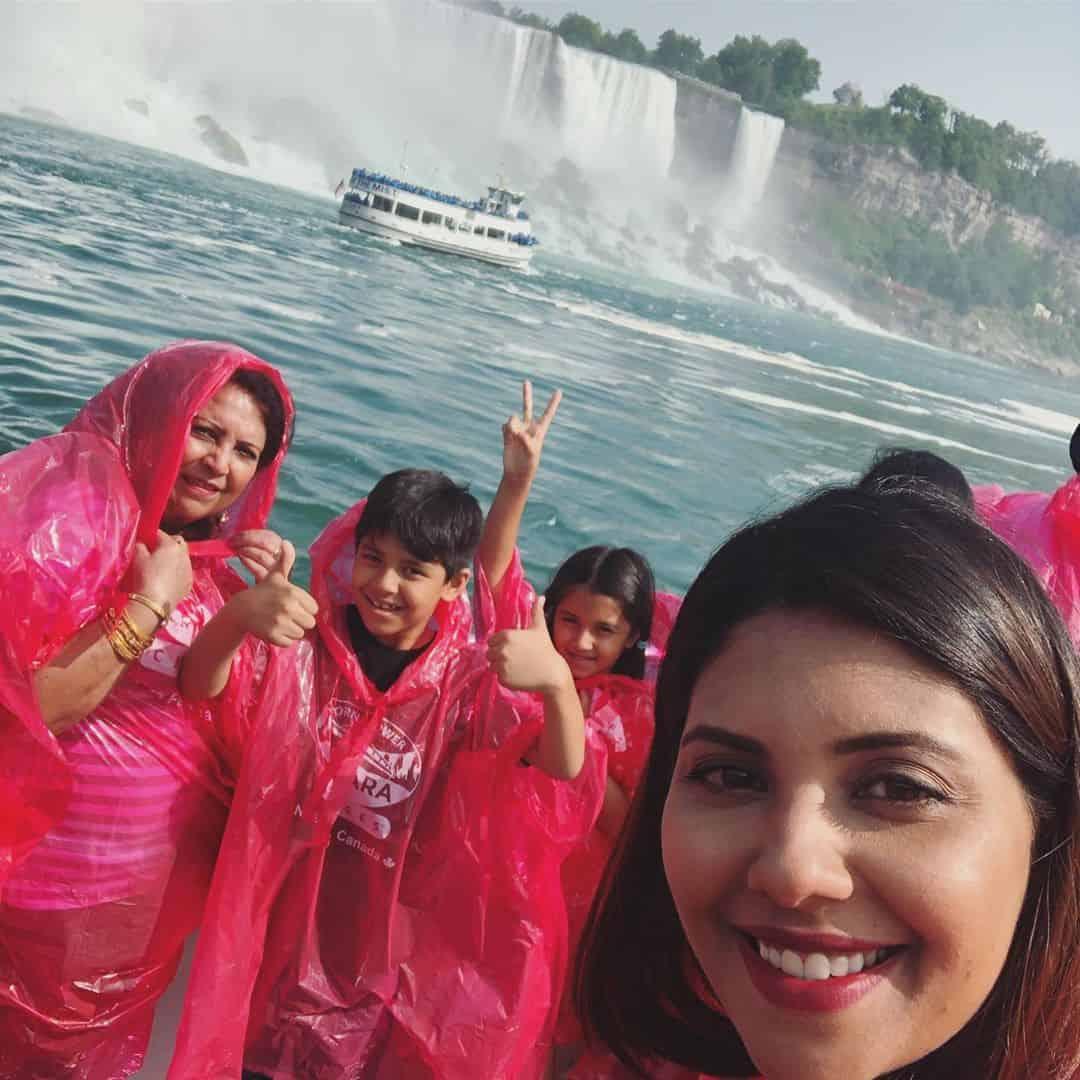 Actress & Model Sunita Marshal Enjoying with Kids in USA