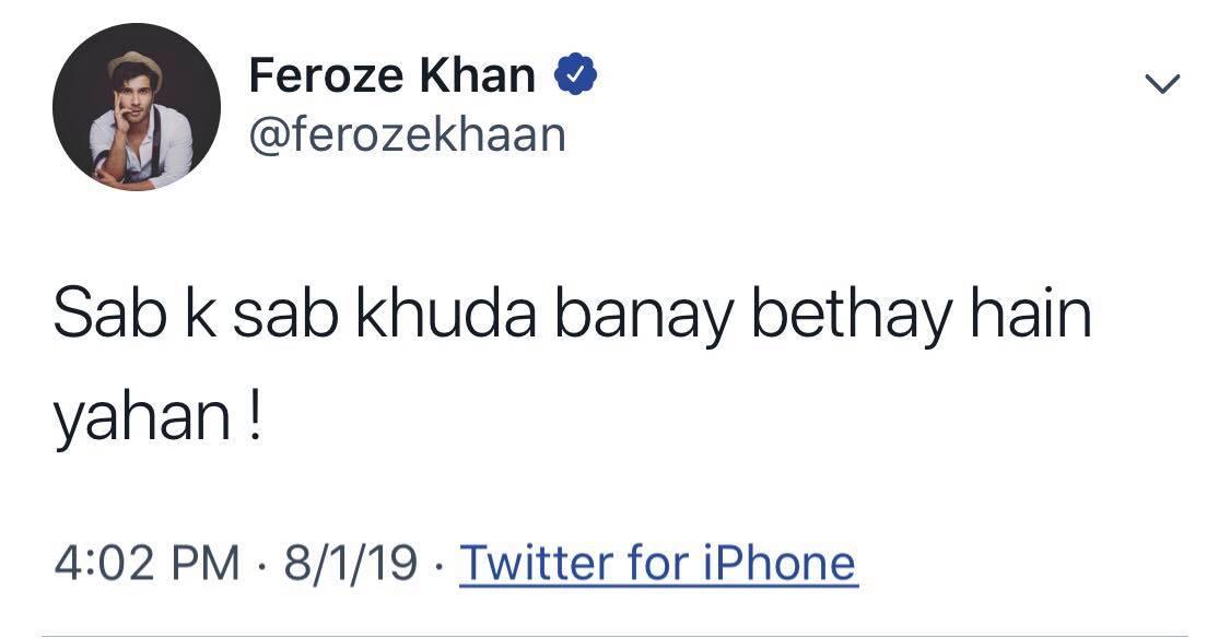 Feroze khan 3