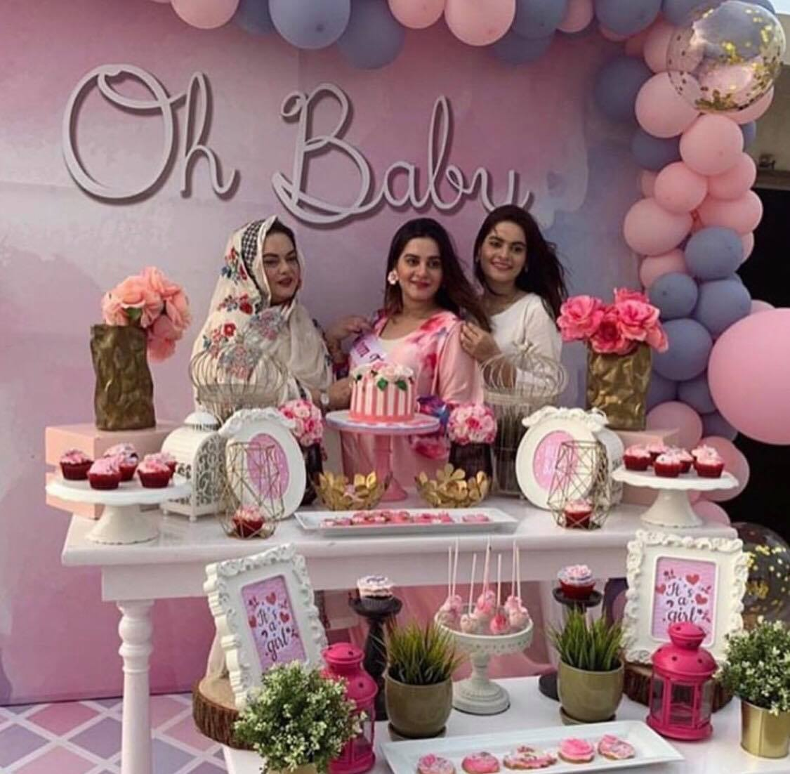 Aiman Khan's Baby Shower And It's A Girl
