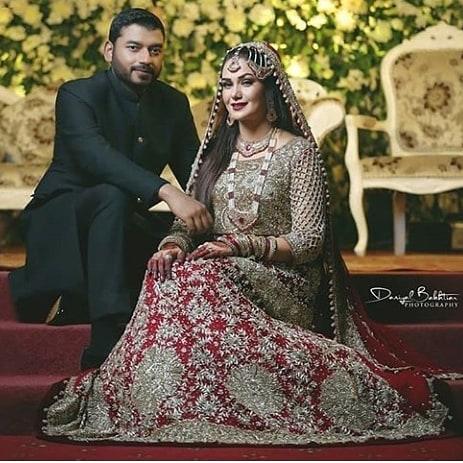 Actress Naheed Shabbir Beautiful Wedding Pictures 1