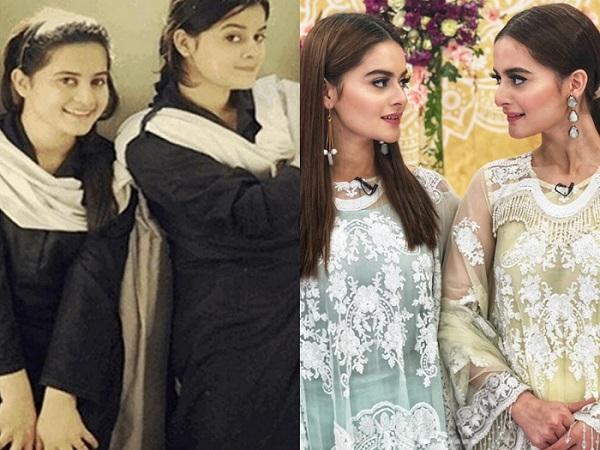 Aiman Khan and Minal Khan's Shocking Transformation Pictures