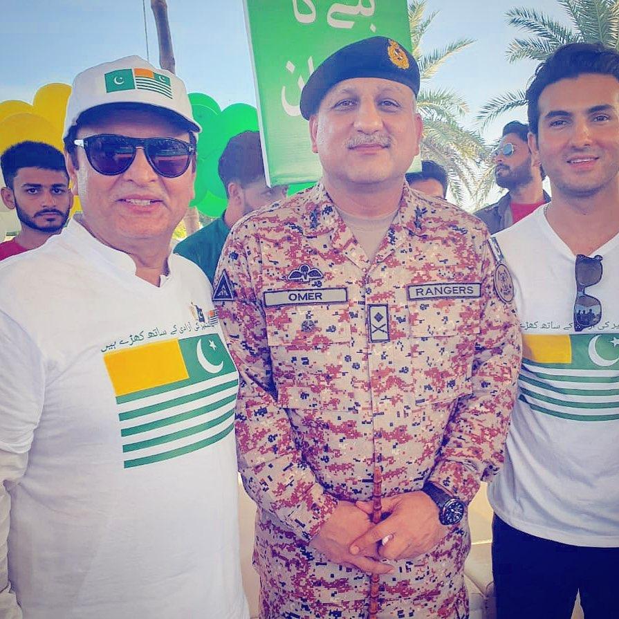 Celebrities on azadi 2019 8