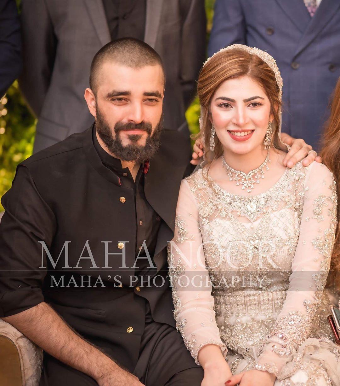 Hamza Abbasi Naimal Khawar Reception 1