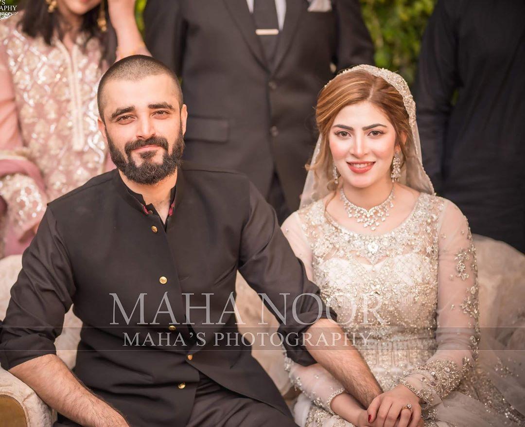 Hamza Abbasi Naimal Khawar Reception 2