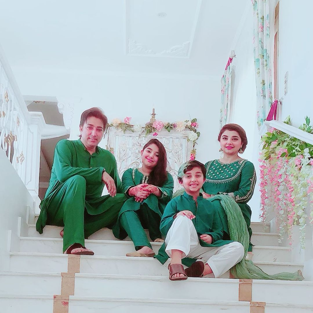 Javeria Saud Celebrating Independence Day 2019 with Kids 11