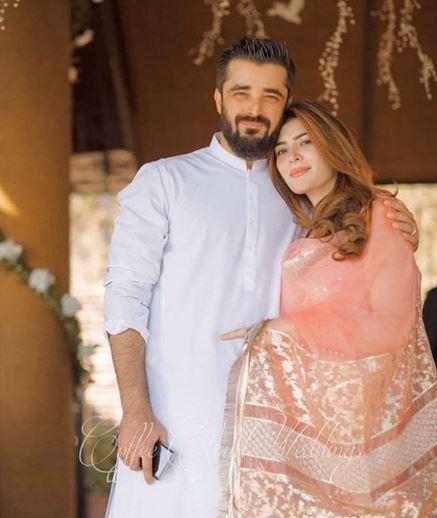 Hamza Ali Abbasi Wife Naimal Khawar - 30 Beautiful Pictures