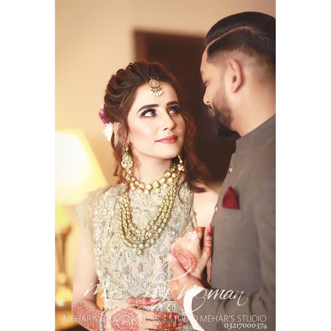 Saniya Shamshad Walima Photo Shoot 1