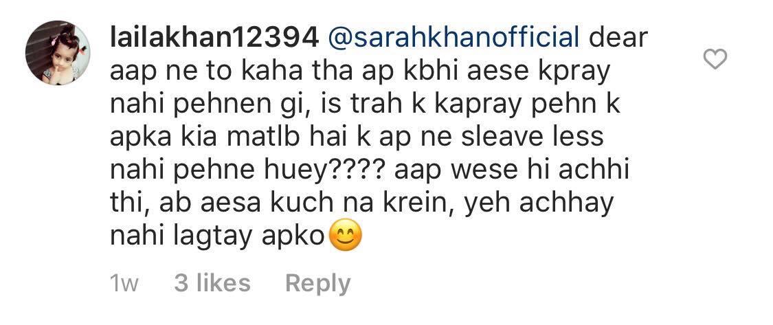 Sarah Khan Discloses Her Actual Weight