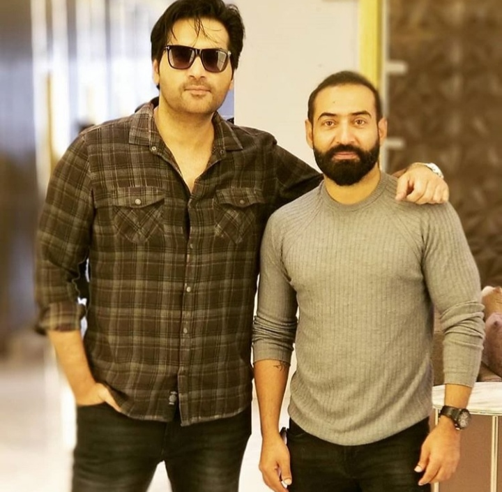 Humayun Saeed has geared up for his new movie