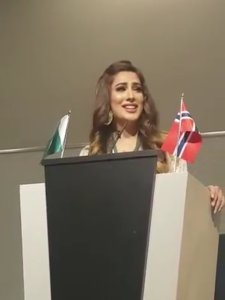 Mehwish Hayat Unveiled Ugly Bollywood Face in Oslo, Norway