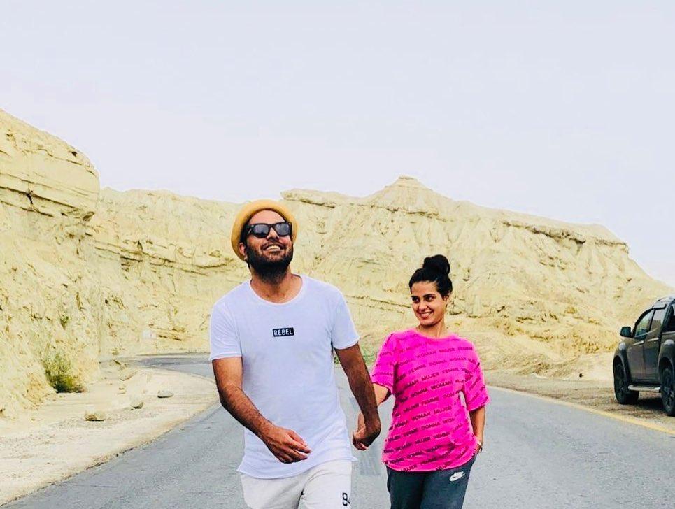 Yasir Iqra Aziz Ormara Beach 1