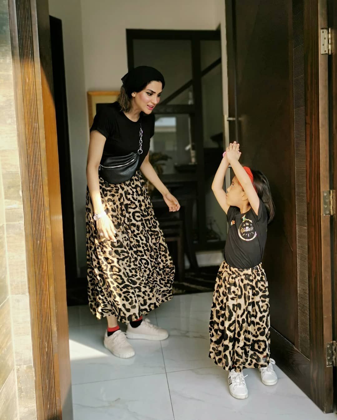 Actress Fiza Ali Celebrated Eid Day 1 with her Beautiful Daughter Faraal