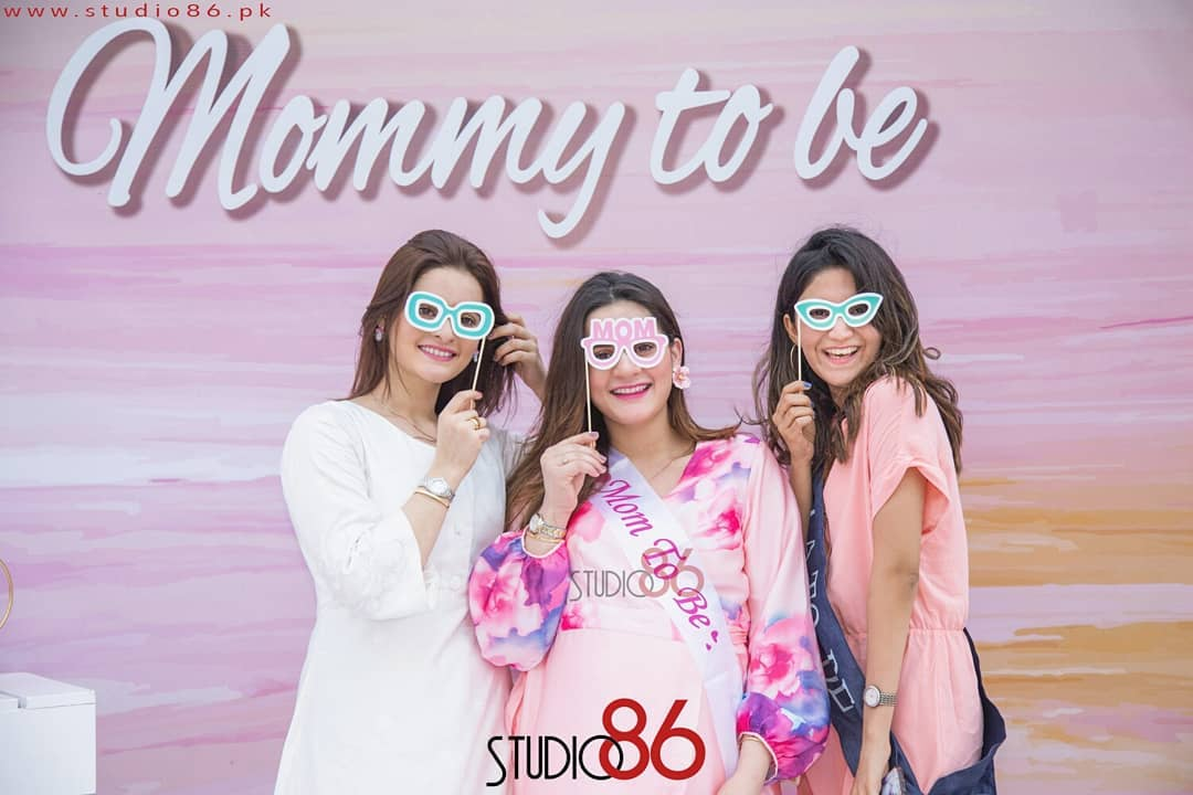 Aiman Khan's Baby Shower Event HD Pictures and Video
